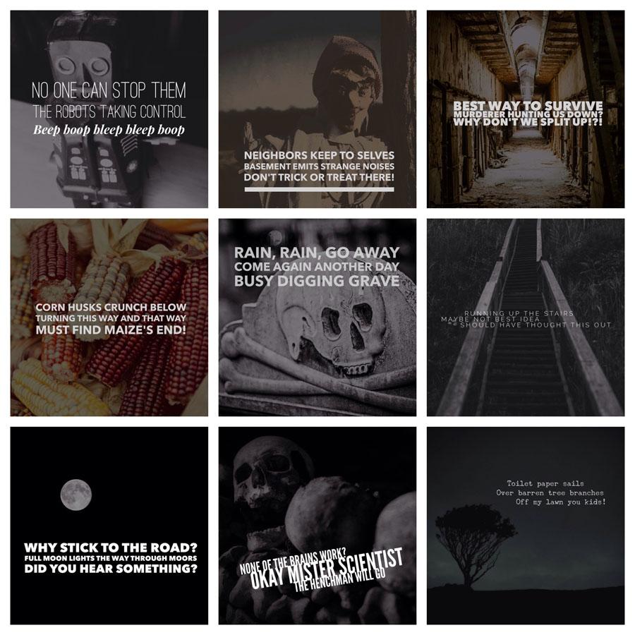 halloween haikus by Casey Fatchett