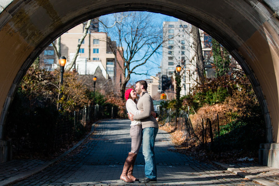 NYC engagement photo session by Casey Fatchett Photography - www.fatchett.com