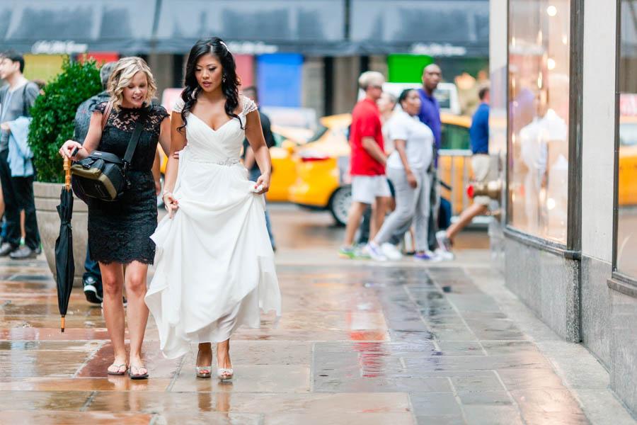 New York City wedding by Casey Fatchett