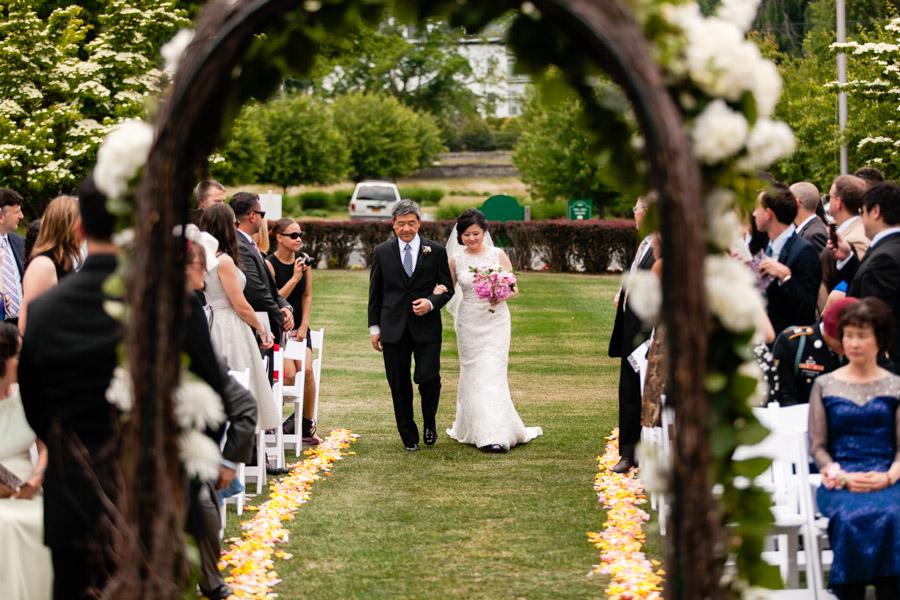 Whitby Castle Wedding - photo by Casey Fatchett - www.fatchett.com