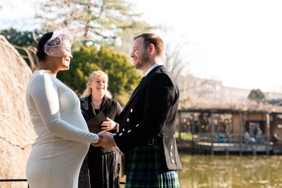 Brooklyn Botanic Garden wedding by Casey Fatchett - www.fatchett.com