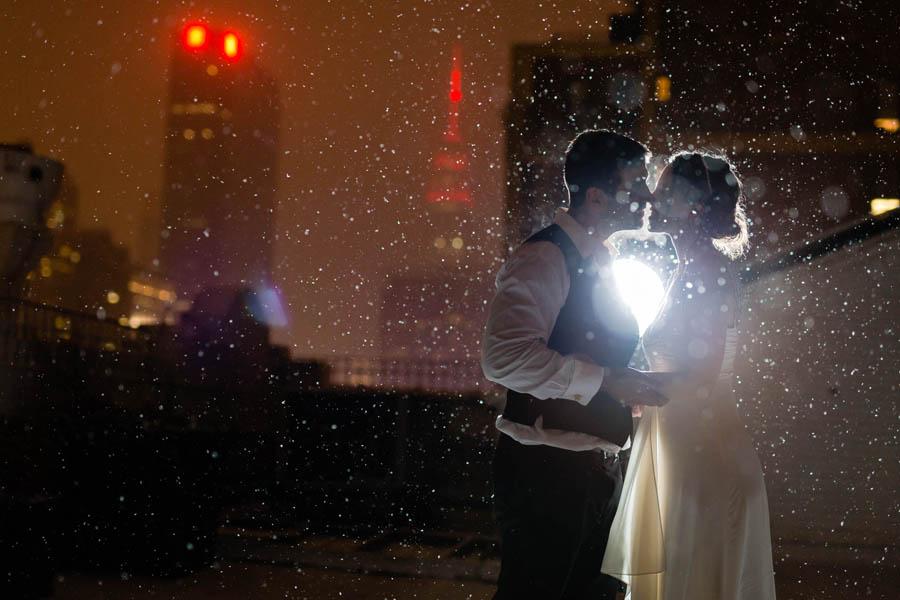 Winter wedding at Studio 450 by Casey Fatchett Photography - www.fatchett.com