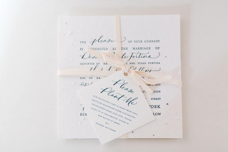 Katie Fischer Designs stationery - photo by Casey Fatchett
