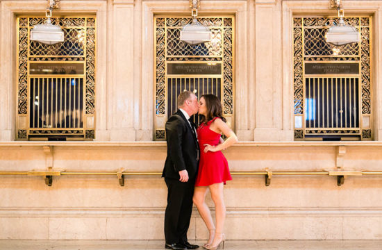 Grand Central Engagement Photo Session by Casey Fatchett - fatchett.com