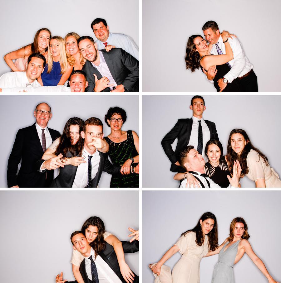 Wedding photo booth provided by Casey Fatchett Photography