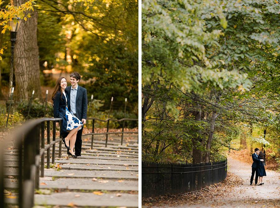 Riverside Park NYC engagement session by Casey Fatchett - fatchett.com