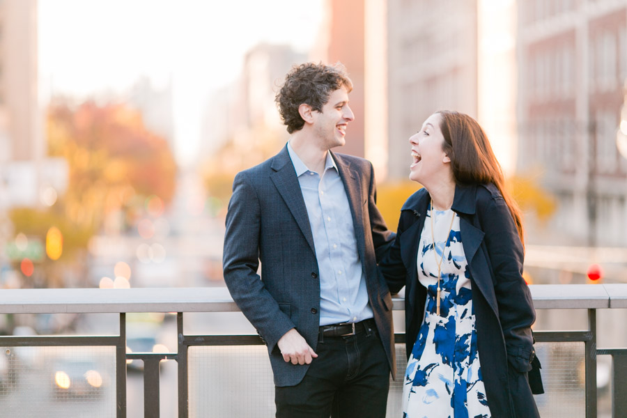 Columbia College campus engagement photo session by Casey Fatchett - fatchett.com