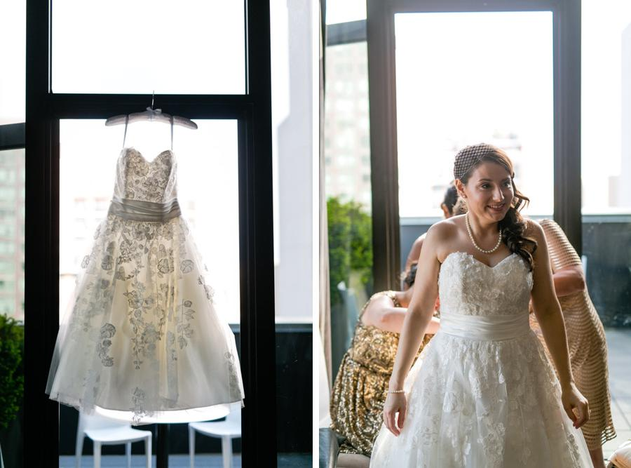 Bride and wedding dress - Casey Fatchett Photography