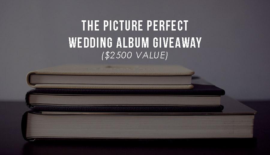 wedding album giveaway