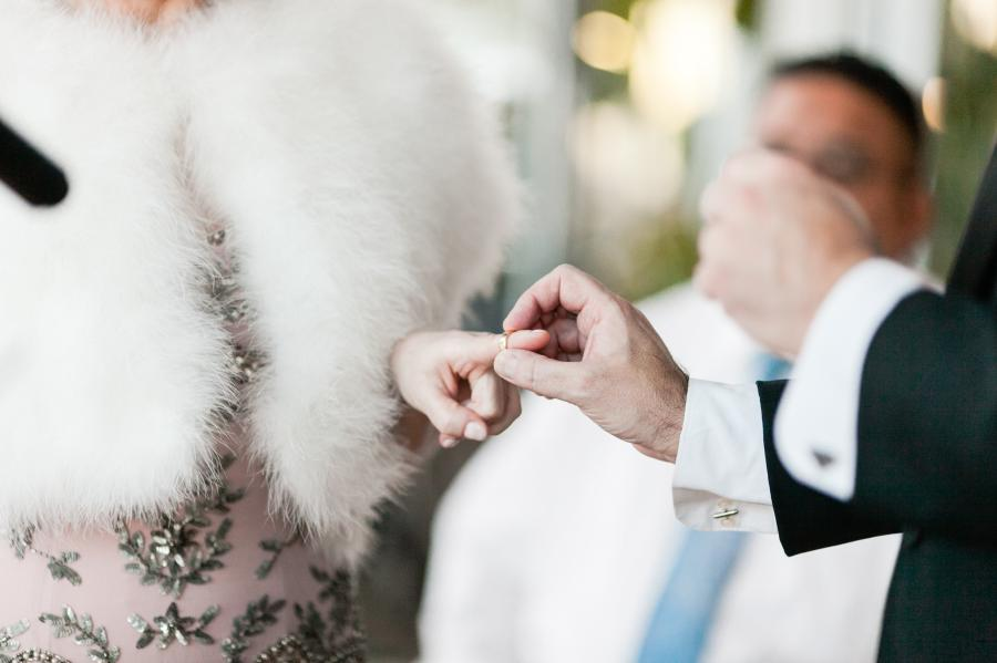 Wedding at The Press Lounge NYC - photo by Casey Fatchett - fatchett.com