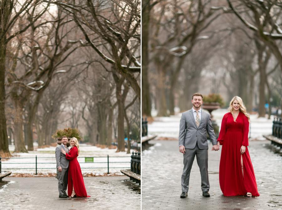 Central Park engagement photos by Casey Fatchett - fatchett.com