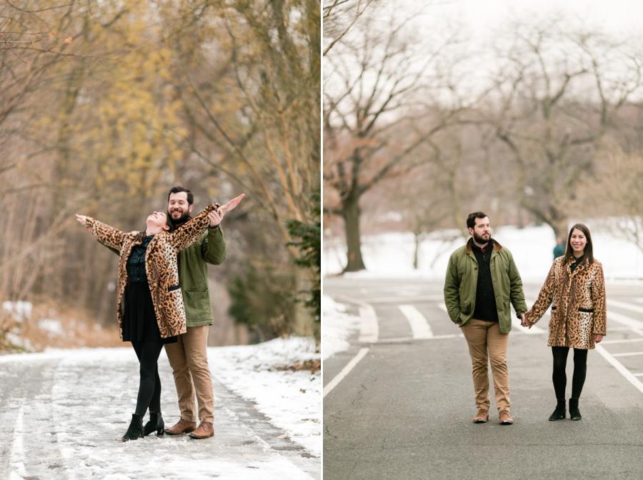 Prospect Park Brooklyn engagement session by Casey Fatchett Photography - fatchett.com