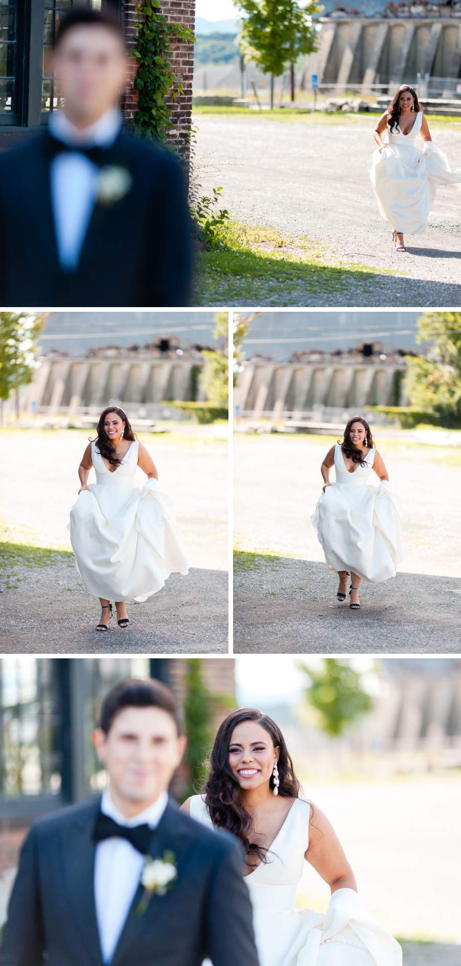 Wedding first look - photos by Casey Fatchett - https://fatchett.com
