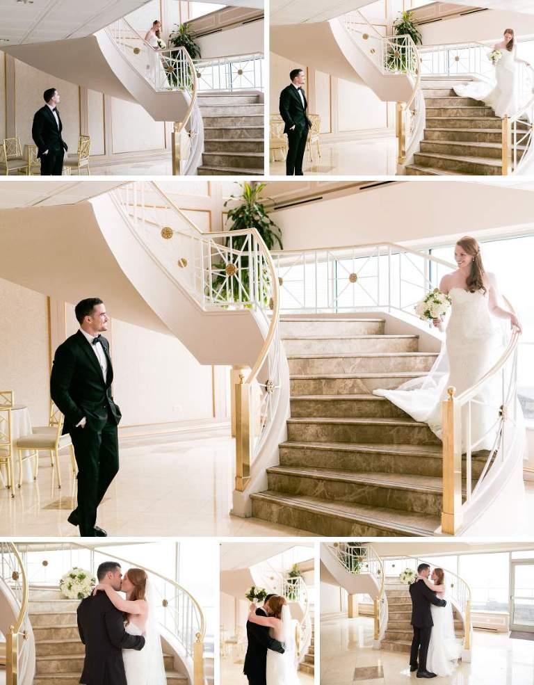 Wedding first look - photos by Casey Fatchett - https://fatchett.com