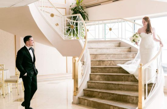 what to consider when deciding to have a first look at your wedding - photo by Casey Fatchett - fatchett.com