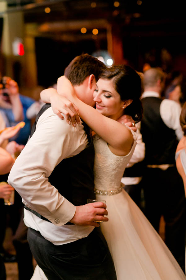 city winery wedding moment