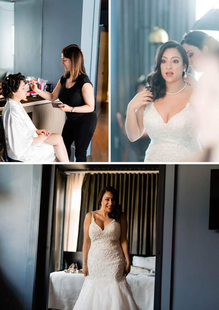 Wedding makeup and hair by SB Beauty - photo by Casey Fatchett - www.fatchett.com
