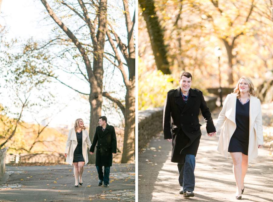 Cloisters and Fort Tryon Park Fall Engagement Session by Casey Fatchett - www.fatchett.com