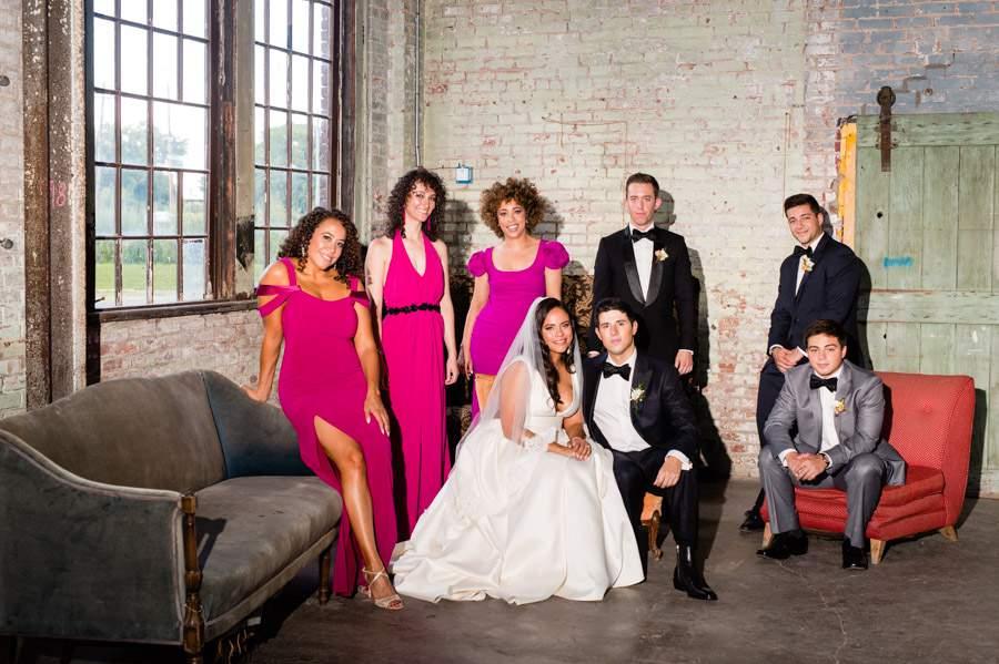 Wedding party - photos by Casey Fatchett