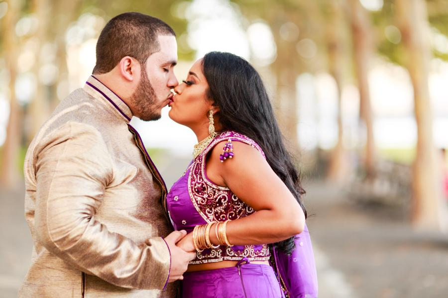 hindu wedding engagement photographer
