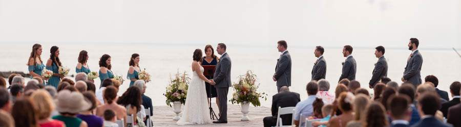 bayside marriage ceremony