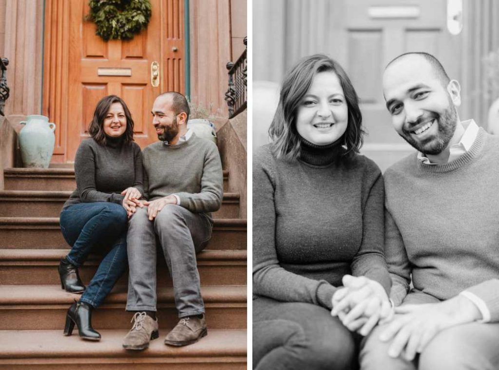 engagement photos in brooklyn