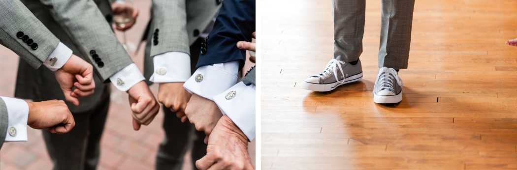 superhero wedding cufflinks converse shoes for groom