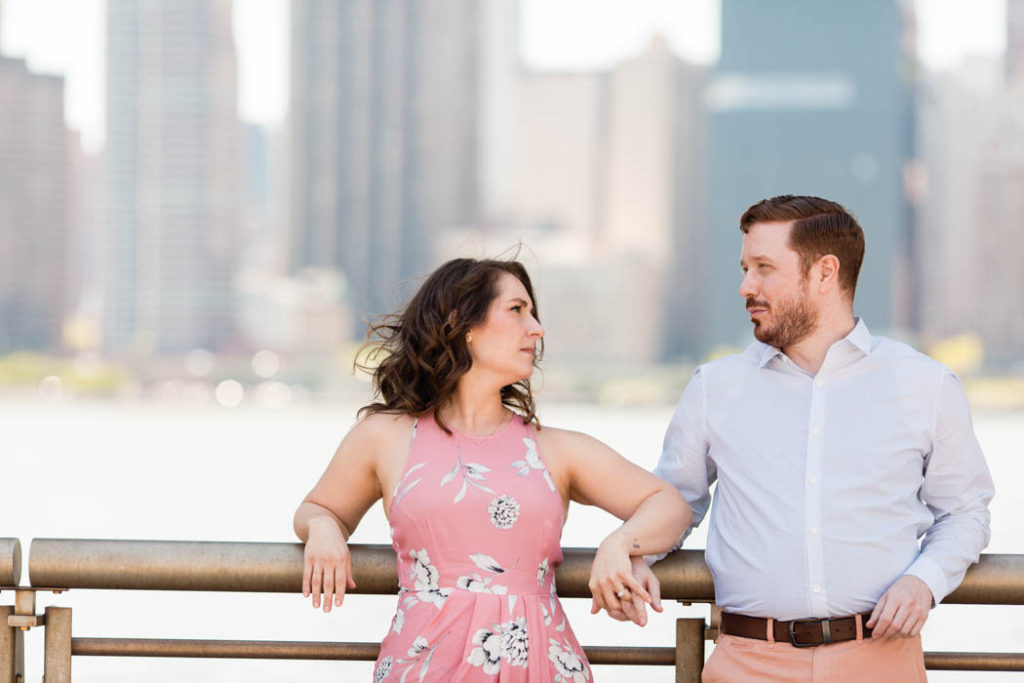LIC Queens engagement photos