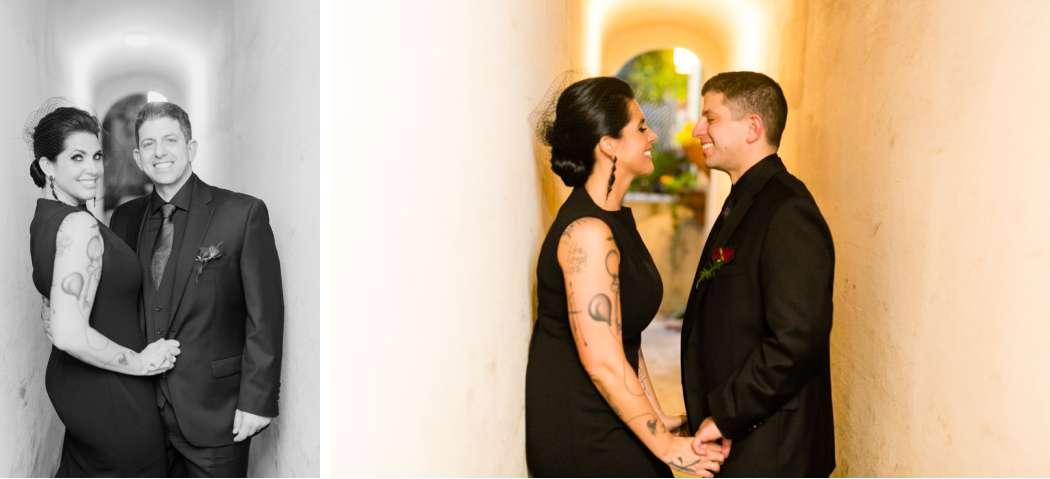 bride and groom nyc wedding
