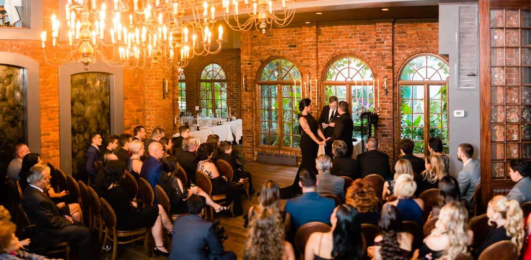 wedding at one if by land NYC