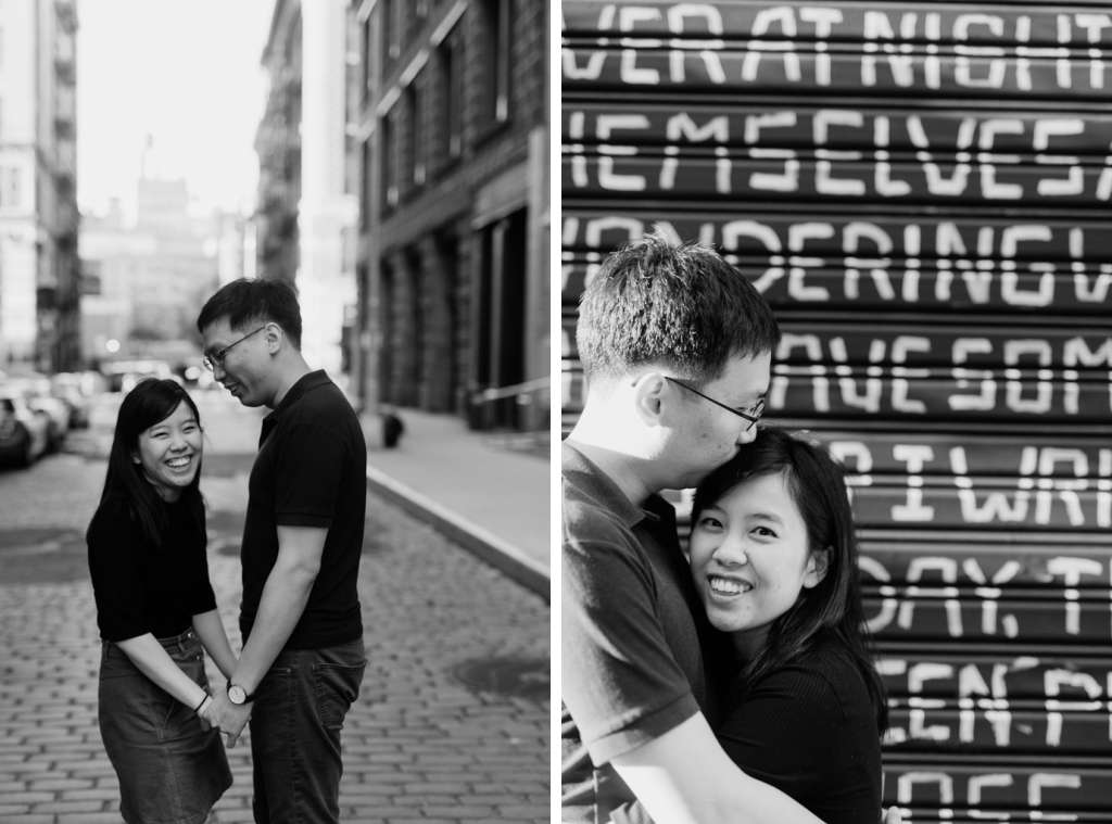 graffiti engagement photos