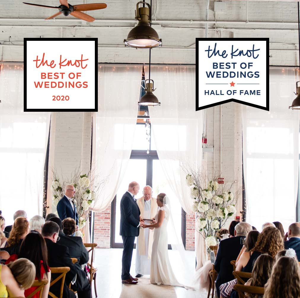 the knot best of weddings 2020 and hall of fame award