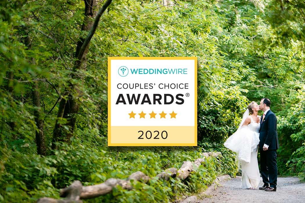 weddingwire couples choice 2020 award winner wedding photography new york city