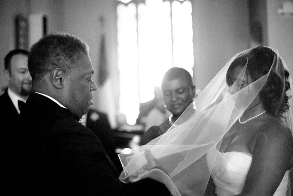black representation in wedding photos