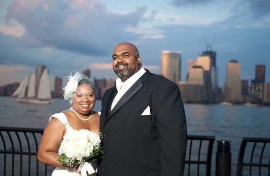 jersey city waterfront wedding by casey fatchett