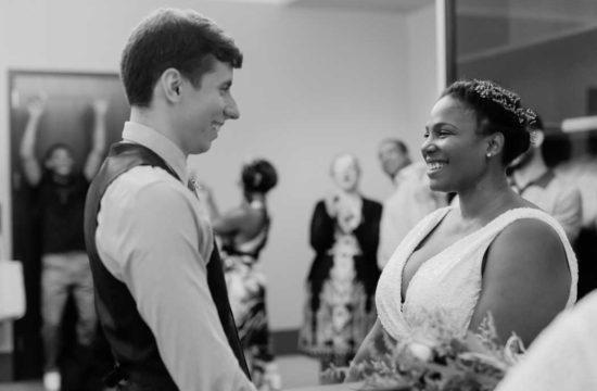 NYC City Hall wedding photographed by Casey Fatchett