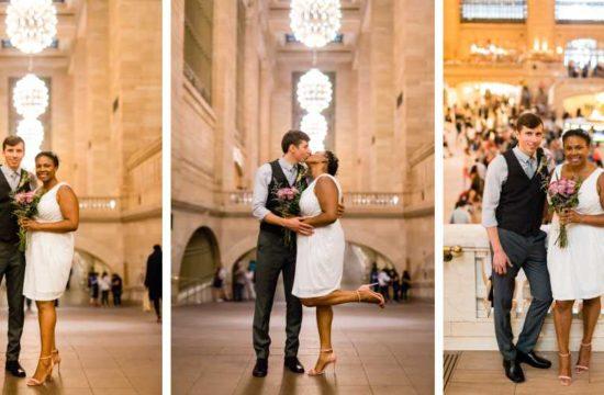 Grand Central Station wedding photos by Casey Fatchett