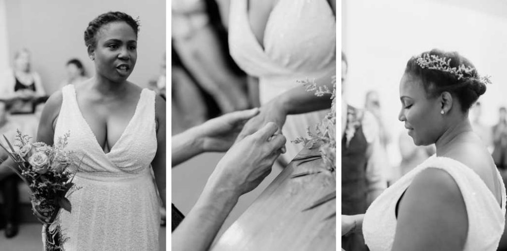 NYC wedding ceremony