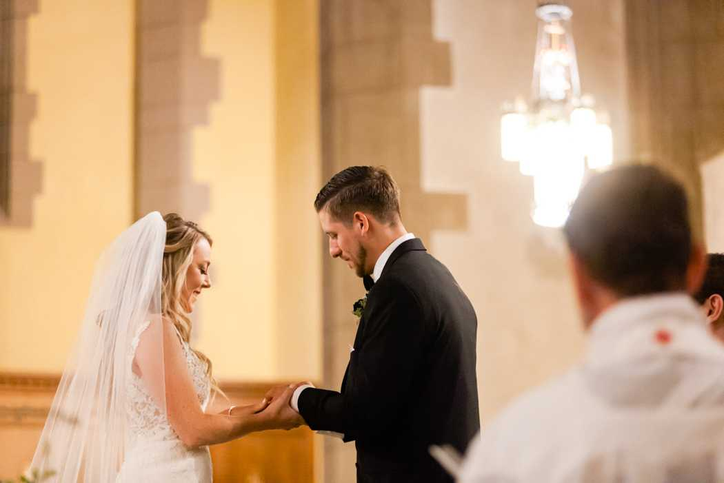 Hudson Valley church wedding ceremony