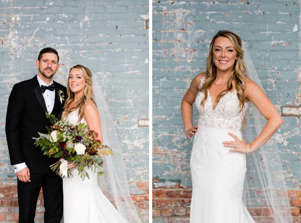 Fall wedding at Basilica Hudson