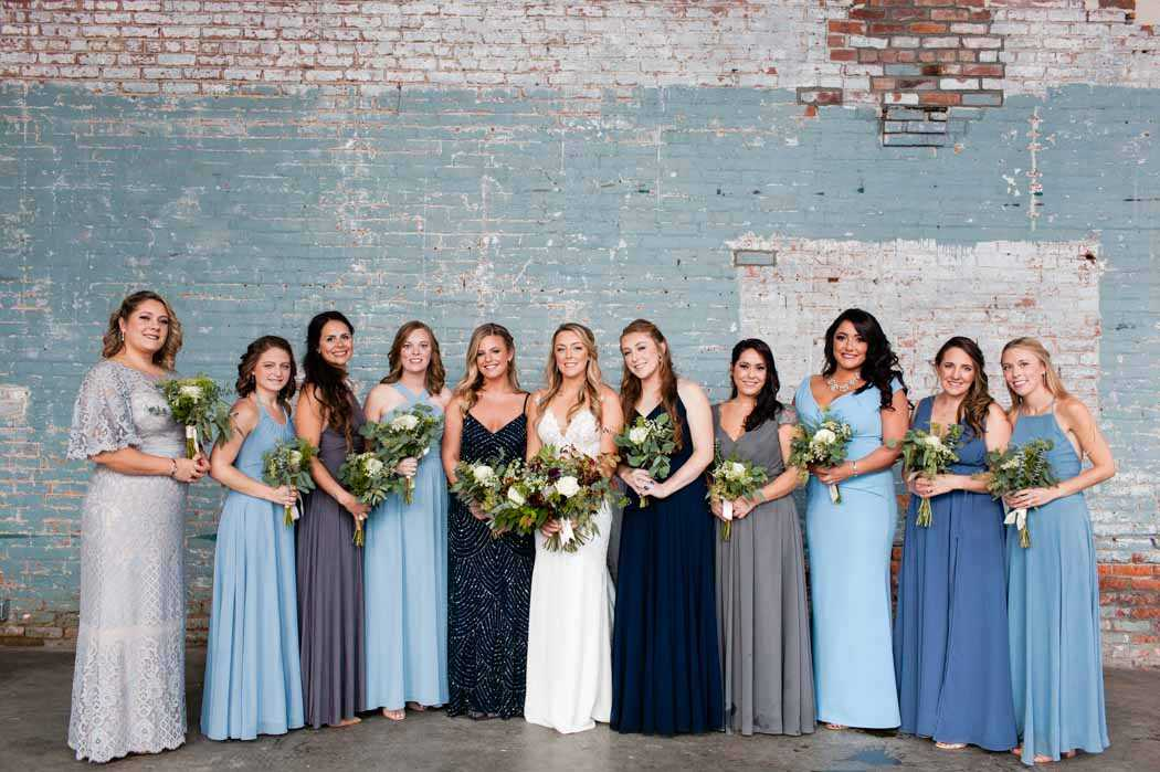 Basilica Hudson wedding party photos