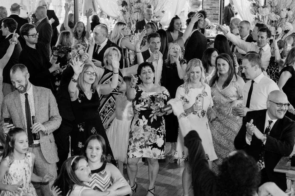 wedding reception photos by new jersey wedding photographer