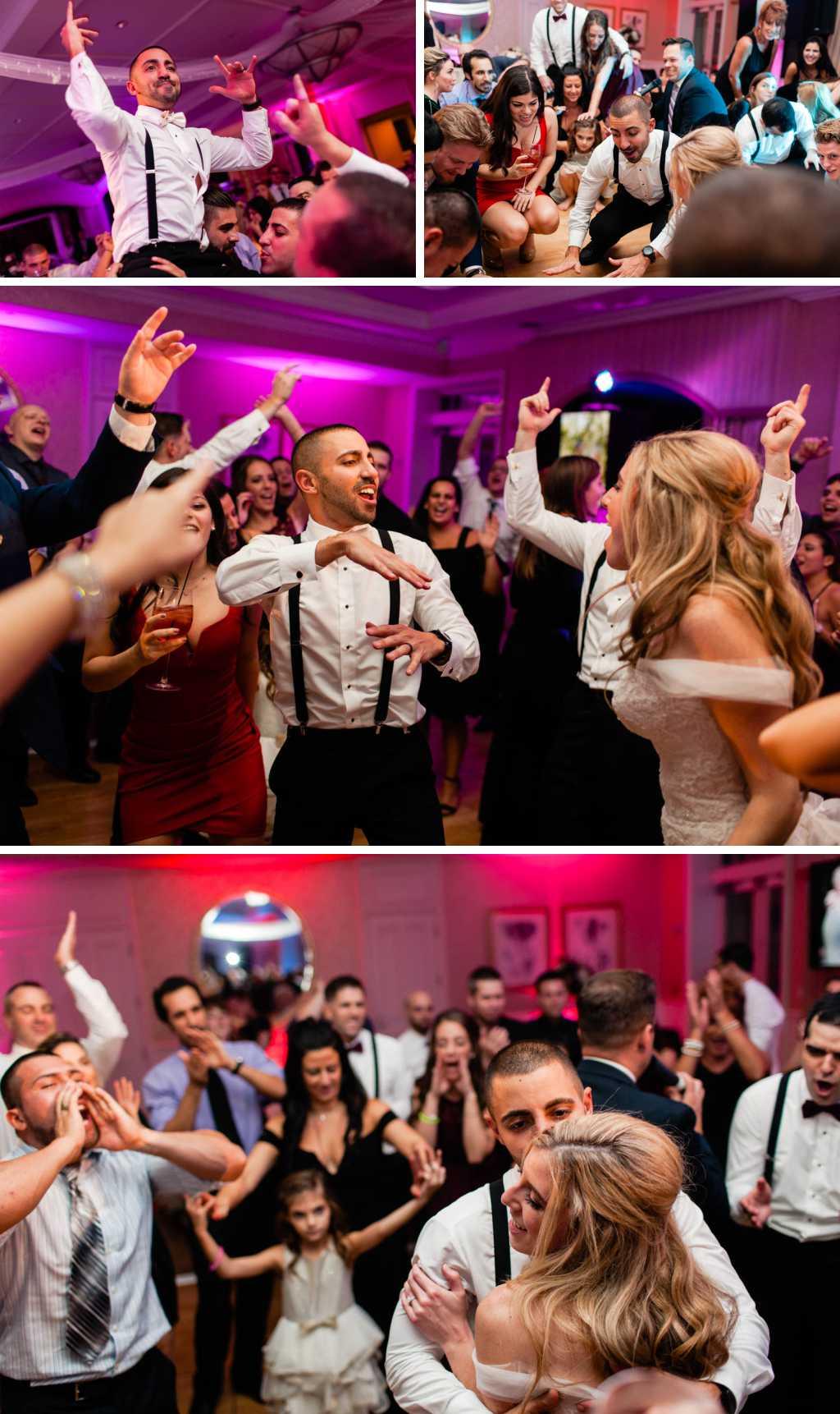 fun wedding reception photos by Casey Fatchett - https://fatchett.com