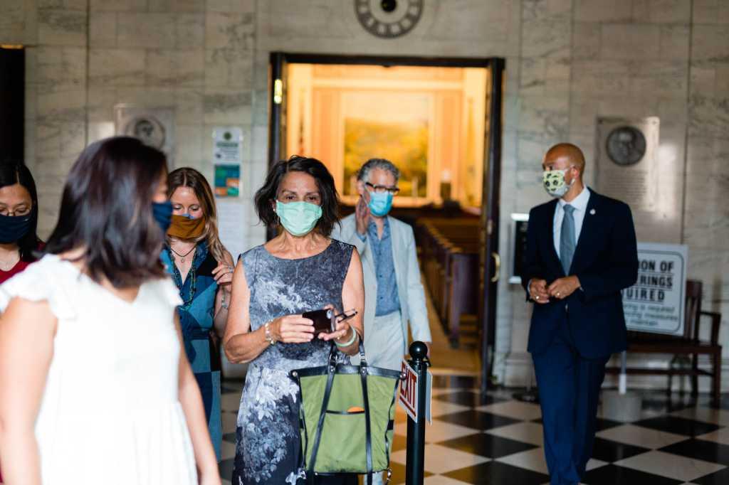 covid-19 pandemic wedding ceremony