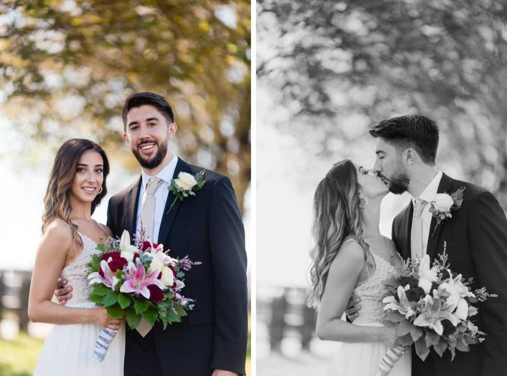 new jersey bride and groom wedding photos