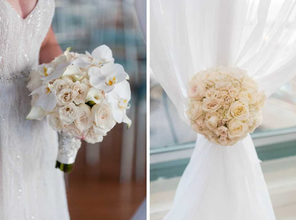 wedding bouquet and flowers