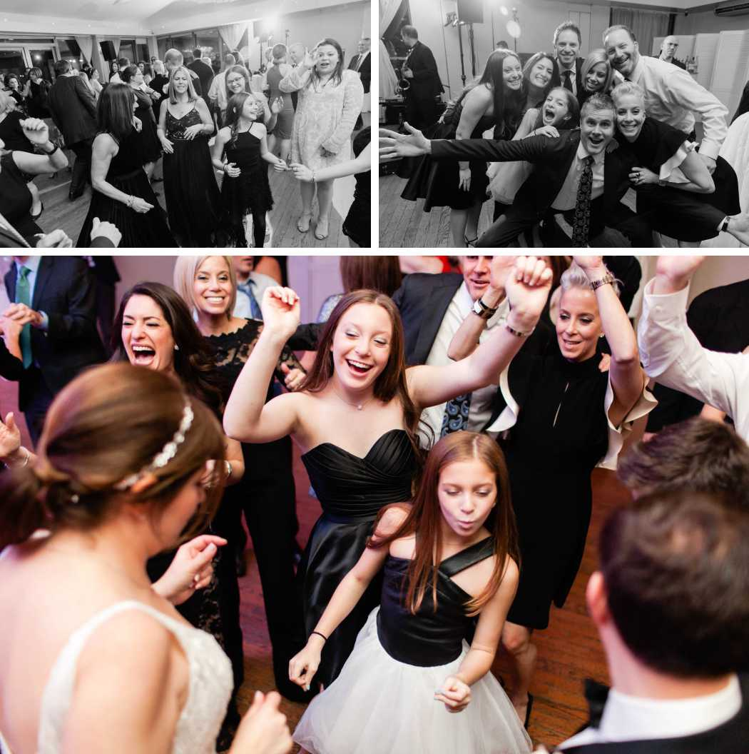 New York City wedding party dancing best photographer