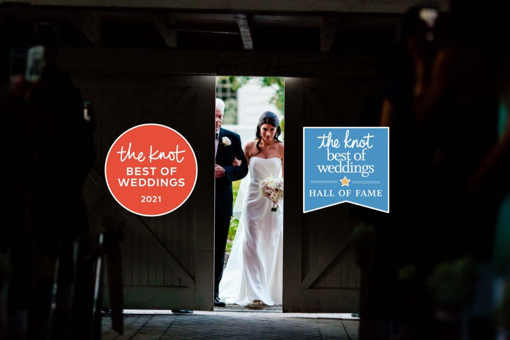 best of weddings 2021 award winner