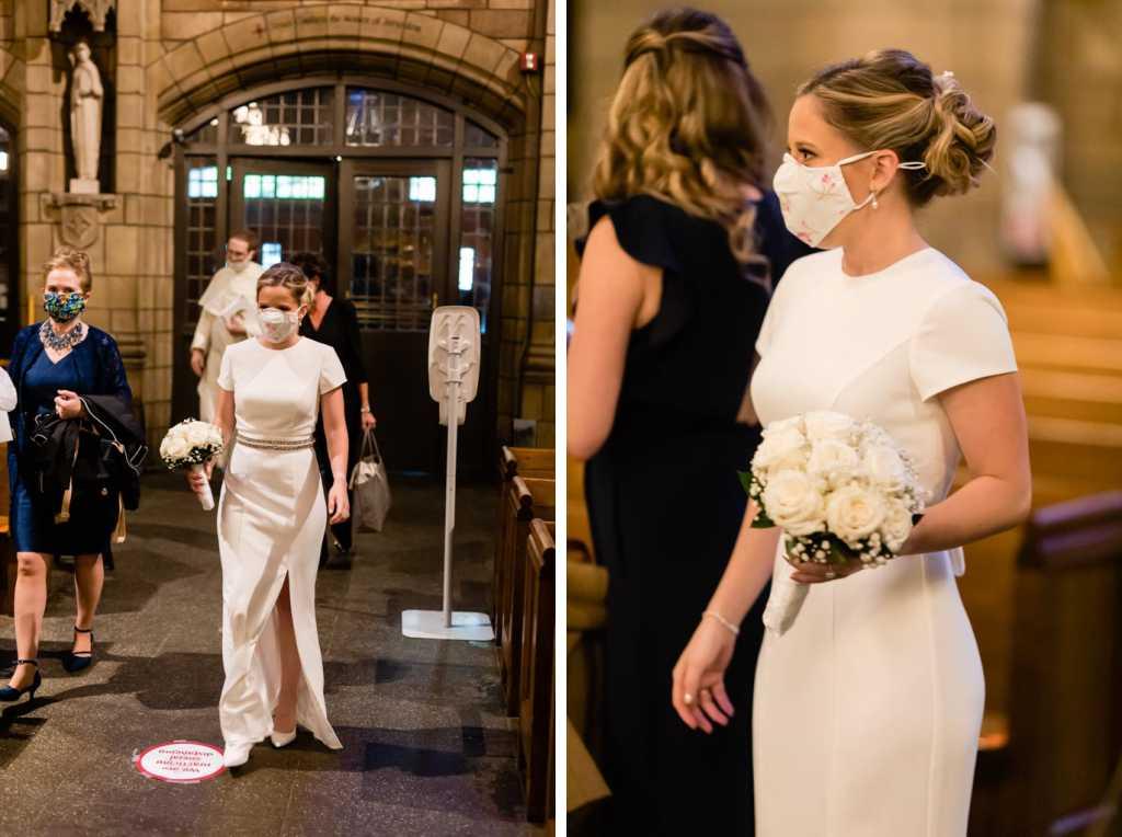 NYC covid pandemic wedding
