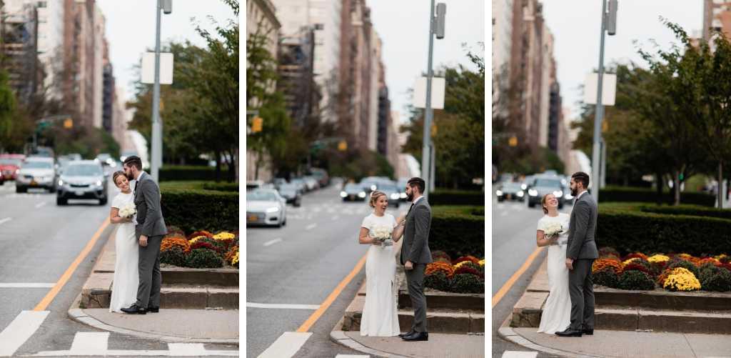manhattan nyc candid wedding portraits